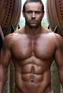 luke newcastle male stripper hire