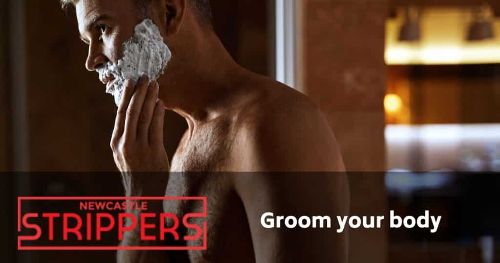 newcastle male stripper grooming